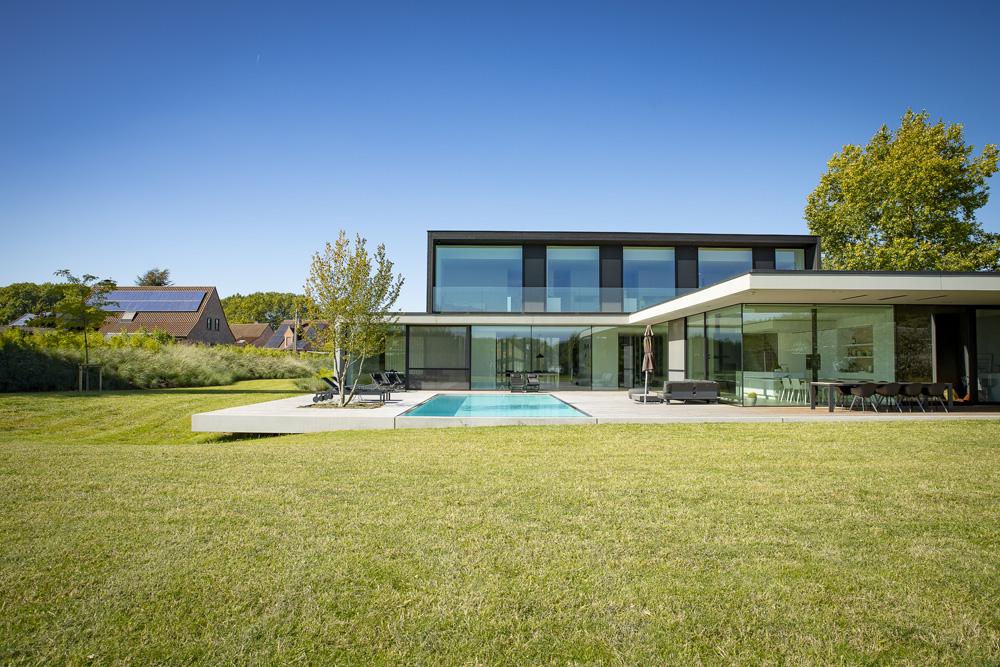 Moderne landschapstuin